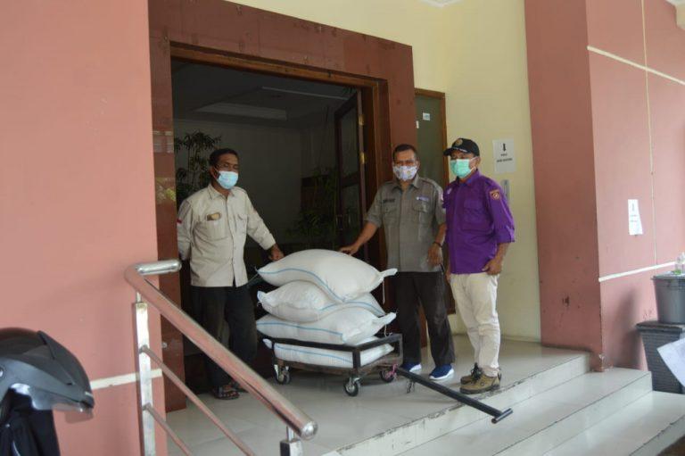 Kwarda Jateng Tambah 500 Kilogram Beras Bantuan Kwarnas untuk Kwarcab Purbalingga