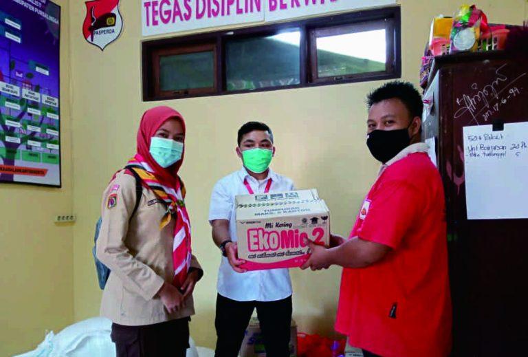 Satuan Karya Bakti Husada Puskesmas Karangreja Purbalingga Beri Bantuan untuk Korban Bencana Alam di Pengadegan dan Kaligondang