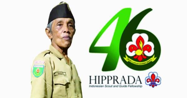 Ketua Himpunan Pandu dan Pramuka Wreda (HIPPRADA) Kabupaten Purbalingga, Kak Soedino