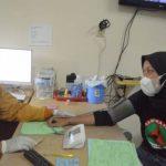 Pemeriksaan kondisi jasmani maupun rohani sebelum donor darah. Foto: Mahendra