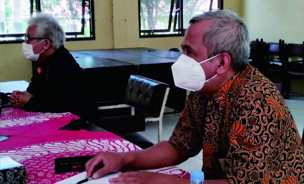 Kak Sasno   Sekretaris Gerakan Pramuka Kwartir Cabang Kabupaten Purbalingga